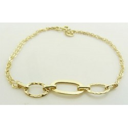 Bracelet Or Jaune 18K 750/1000